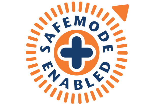 safemode enabled logo